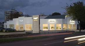 HWM Aston Martin - New Showroom Refurbishment - Walton on Thames, Surrey