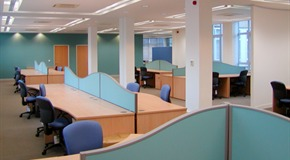 AVT - Office design and fit out - London, EC2