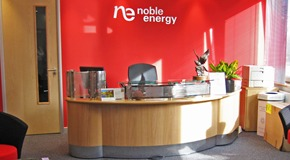 Noble Energy - Office fit out and refurbishment - Sevenoaks, Kent