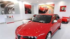 HWM - Alfa Romeo Showroom Fit Out - Walton on Thames, Surrey